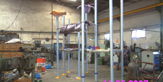 playground asymbly in our factories