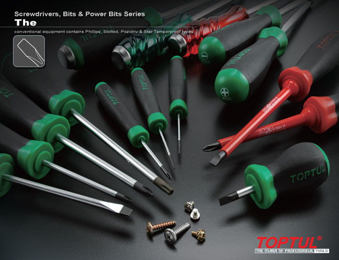 Screwdrivers, Bits & Power Bits