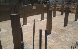 Construction of hangar and settlement - Sahab