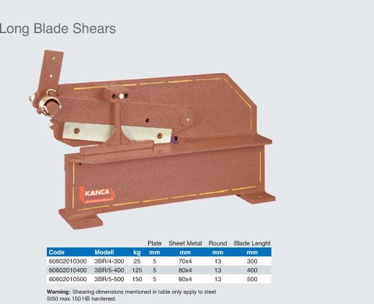Long Blade Shear